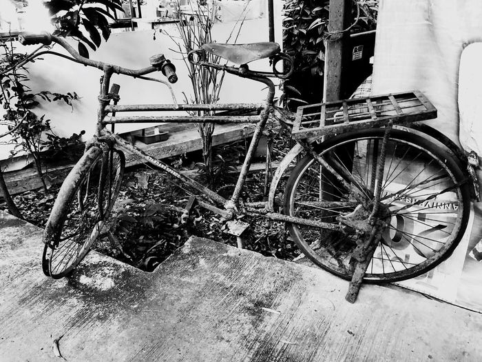 Transportation Mode Of Transportation Land Vehicle Bicycle No People Day Stationary