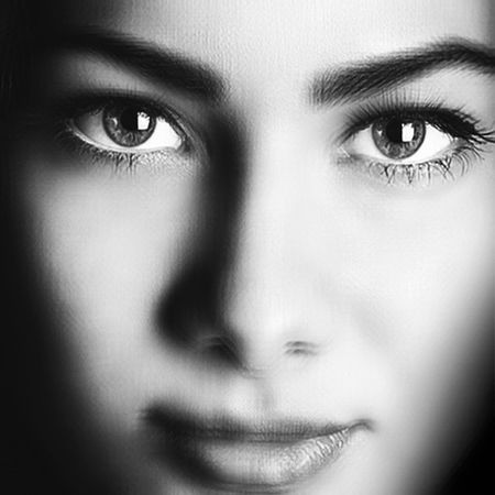 Deep Smile. Selfportrait Blackandwhite Artportrait Eminmammadov Azerbaijan Girl Hello World