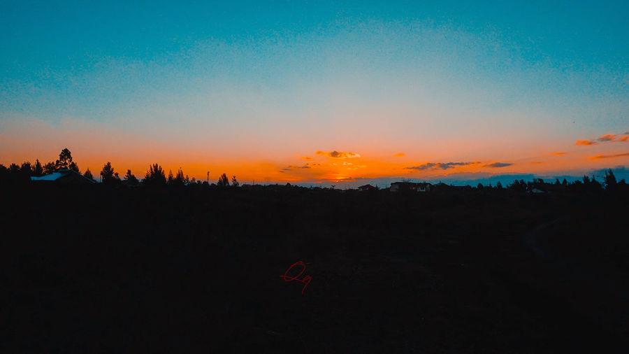 Landscape_Collection Silhouette Sunset And Clouds  Sunset_collection Teal Landscape Landscape_photography Sunset Sunset #sun #clouds #skylovers #sky #nature #beautifulinnature #naturalbeauty #photography #landscape