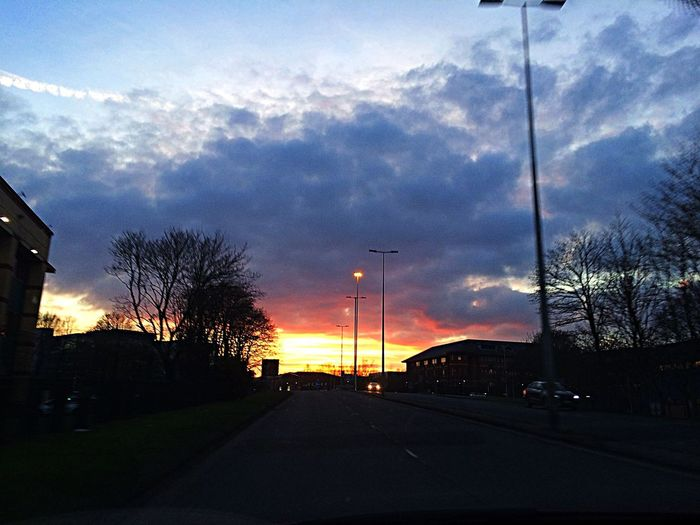 Sunset Road The Way Forward Silhouette Outdoors Tadaa Community Theholysin Sky London United Kingdom