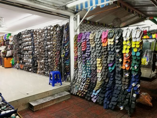 slipper shops Slippers Shoes Multi Colored Choice Variation Business Finance And Industry Store For Sale Display Market Shop Collection Various Street Market