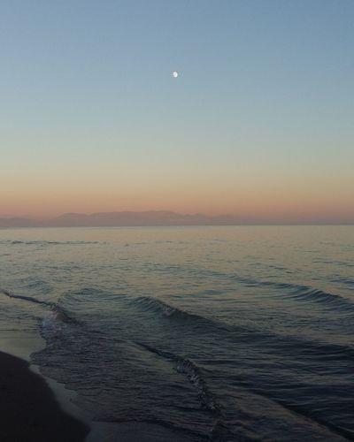 Sea Beach Moon Vacations Sunset