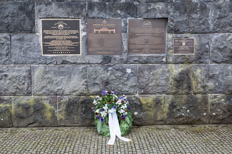 Bridge of Remagen (Germany) - Monument from the WW II Showcase March Monuments