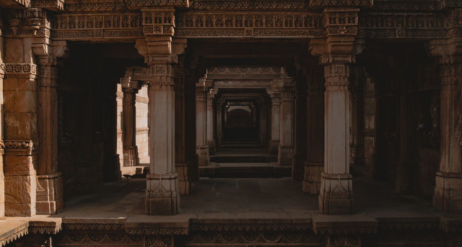 Step well Architecture History Built Structure The Past Arch Travel Destinations Architectural Column Building No People Ancient Civilization Ancient History Tourism Old Adalajstepwell