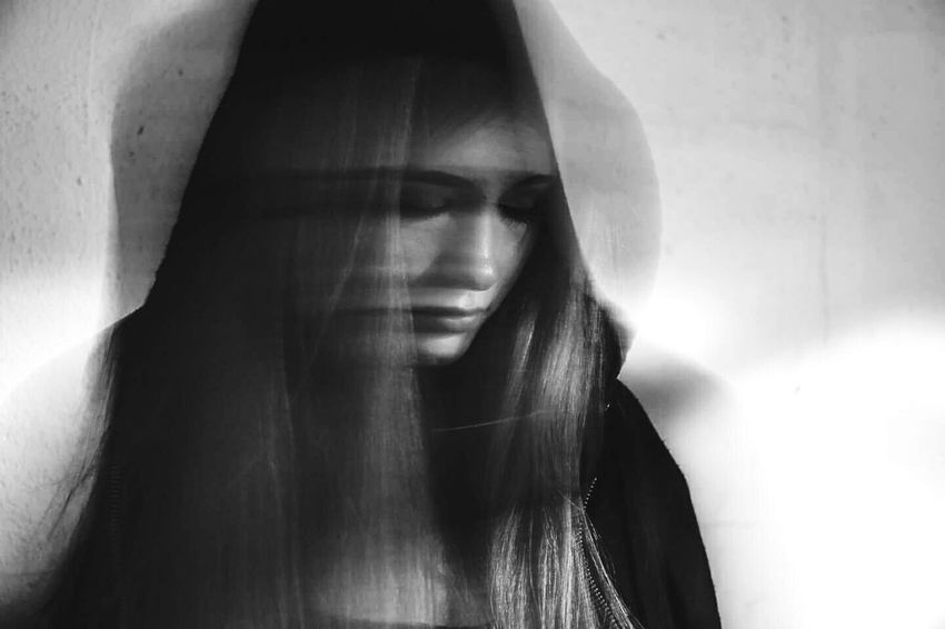 Blury Young Adult Young Women One Person Spooky Females Horror Close-up People Day City Blackandwhite One Young Woman Only Grief Blackandwhite Photography Young Adult One Young Woman Only Only Women Young Women One Woman Only Adults Only One Person Adult Spooky Women