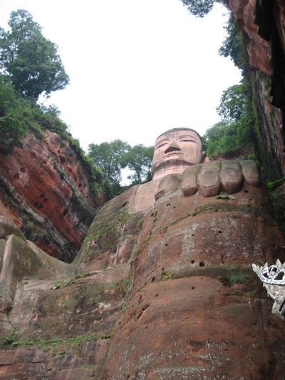 Ancient Ancient Civilization Beauty In Nature Buddha Buddha Statue Buddhism Buddhism Culture Buddhism Temple Buddhist Buddhist Art Buddhist Culture Buddhist Statue Buddhist Temple China History Landscape Leshan Nature No People Old Ruin Rock - Object Scenics Tranquil Scene Tranquility Travel Destinations