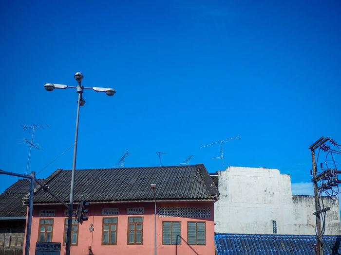 Sky Blue House