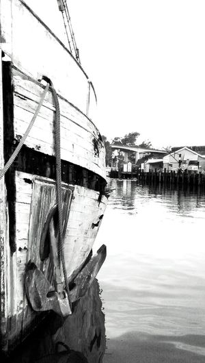 Black And White Photography Walking Around Old Boat Fishing Boat