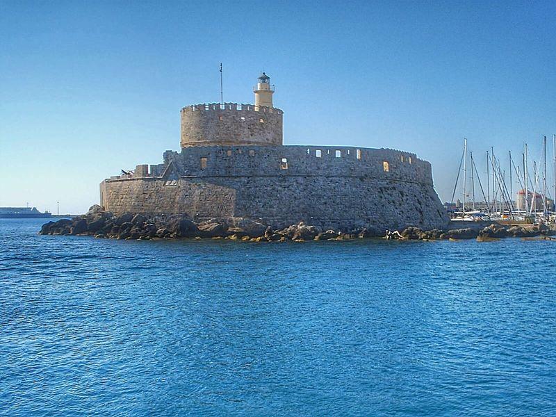 Seafort Sea Fort Sea Fortress Stone Seascape Landscape Seascape Blue Sky Seascape Photography Lighthouse Blue Blue Wave