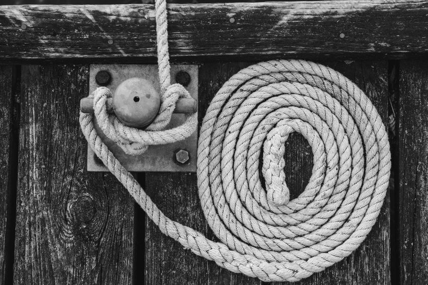 Circle Pier Sailing Ship Close-up Dark Wood Day Jetty No People Outdoors Rope Rope Art Sail Sailing Sailing Ropes Sailing Ship Wood - Material
