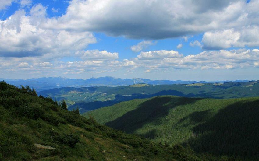 Hoverla Mounthoverla Mountains Ukraine Carpathians Vorokhta Nature Landscape Говерла Ворохта гори