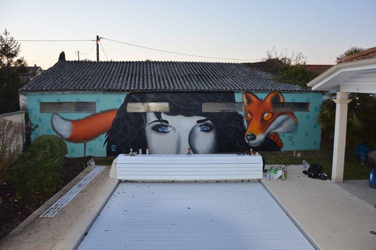 Mon mur à MOI chez moi Nikon Animal Themes Streetart Outdoors Woman Graffiti Streetphotography Creativity Spray Aerosol Home Home Sweet Home