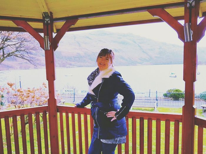 Scotland Loch Lomond Outdoors The Best From Holiday POV Holiday Vacations Posing For The Camera Beauty In Nature Smiling That's Me Travel Destinations Smiley Face