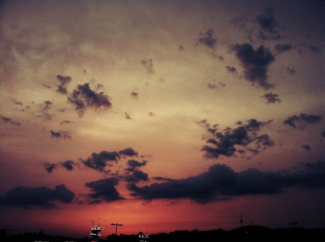 Red Sunset Iphonography Iphonephotography IPhoneography ByAlex