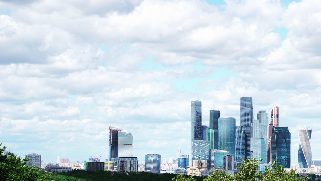skyscraper, architecture, city, building exterior, cityscape, sky, cloud - sky, modern, built structure, urban skyline, day, downtown district, no people, outdoors
