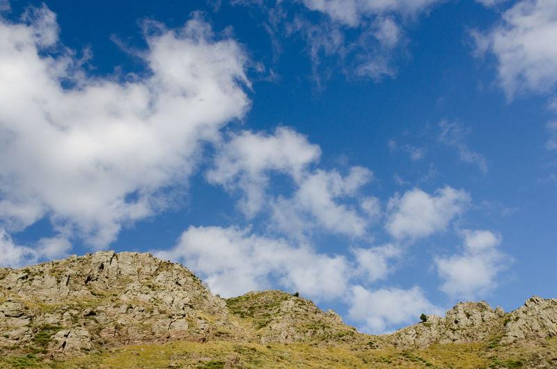 Cévennes France Hiking Mont Aigoual Beauty In Nature Blue Cloud - Sky Day Landscape Low Angle View Mountain Mountain Ridge Nature No People Outdoors Parc National Des Cévennes Ridge Scenics Sky Travel Destinations