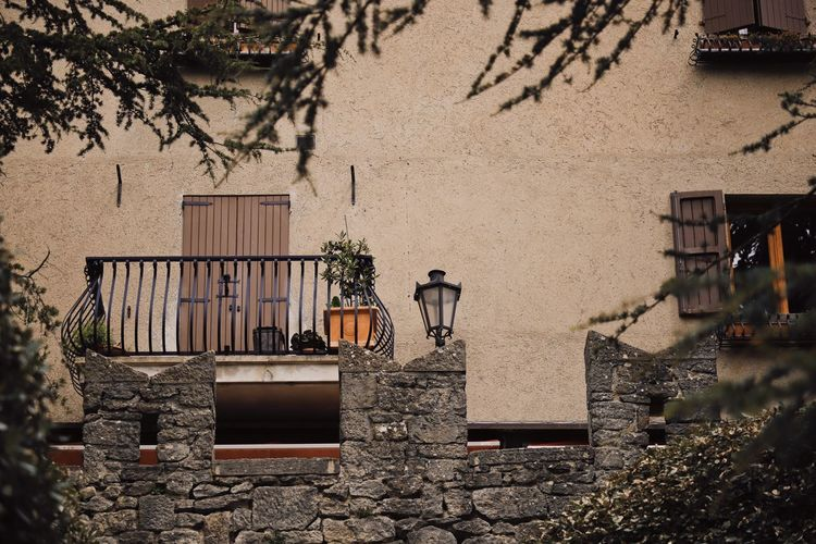 Architecture Built Structure Building Exterior Building House Residential District No People Day Outdoors Nature City Wall - Building Feature Wall Italy San Marino Balcony Beautiful Travel Travel Destinations Travel Photography Traveling