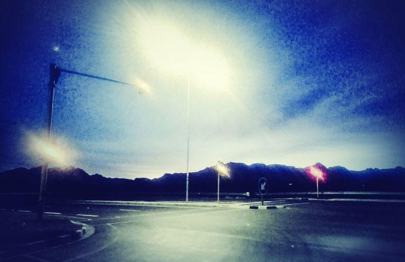 Winter Morning Sky Stellenbosch Cape Town Artistic