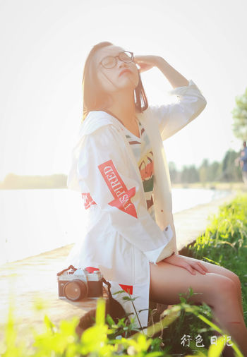 微信Virgolcj 365 Project Of Virgolcj Beauty Canon Ftb Dianchi Lake Girl Legs Nature One Person Outdoors People People Photography Potrait Sunshine Young Adult Young Women 昆明 海埂