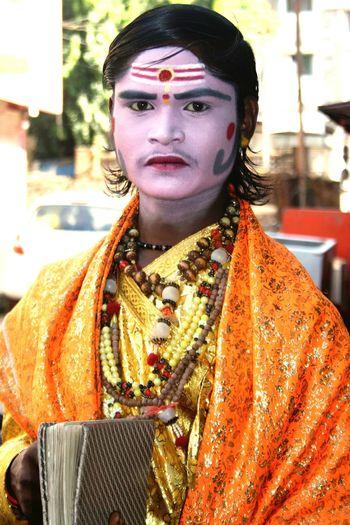 Artist Street Art Impersonator Mythology Sadhu Makeup ♥