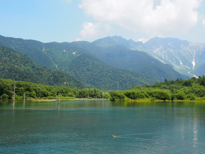 Scenics - Nature Mountain Water Beauty In Nature Lake Tranquil Scene Sky