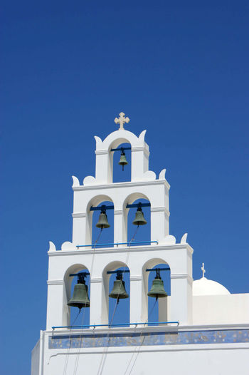 Chruch Bells AGAINST CLEAR SKY