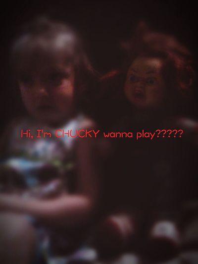 Chucky found a new friend!!! Enjoying Life Chuckydoll Chucky Chuckydolls ChuckyMovies Childsplay Childs Play Childsplay<3 Chucky ❤❤ Childplay Killer Reflections Goodguys Goodguy Doll Scary Dolls Dolls Dollskill Doll Photography Horror Dolls DOLLS KILL