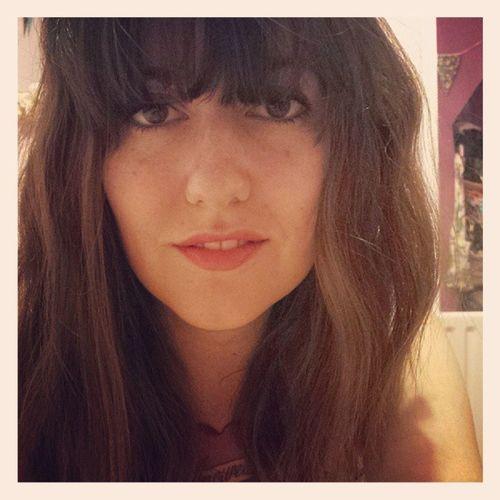 Loving yourself isn't a bad thing Instagirl Selfie Shamelesstagging Hair Fringe Redlips Tattooedgirl ILoveMyself