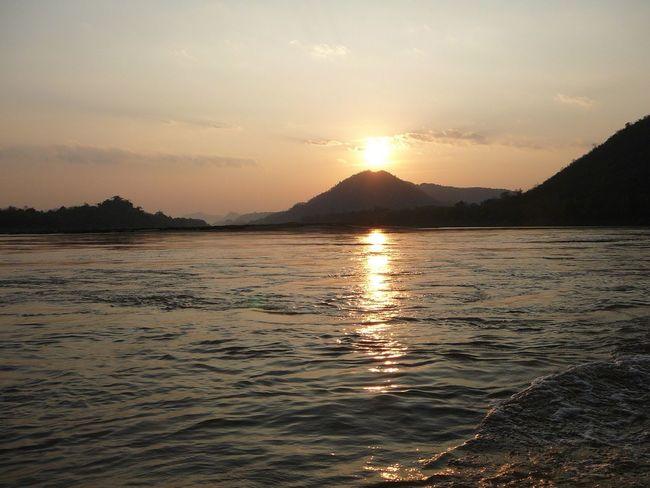 Mekong Sonnenuntergang