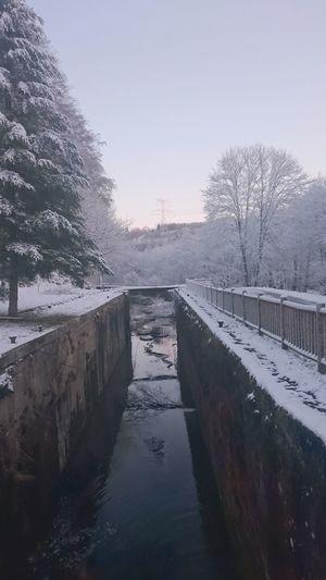 Snow Water Winter