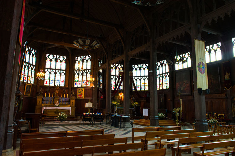 Architecture Indoors  Interior Old Religion Spiritualité Wood - Material