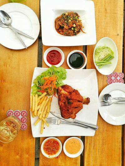 Food And Drink Ready-to-eat Directly Above Seafood Food Healthy Eating Indoors  No People Table Drinking Glass Plate Freshness Meat Close-up