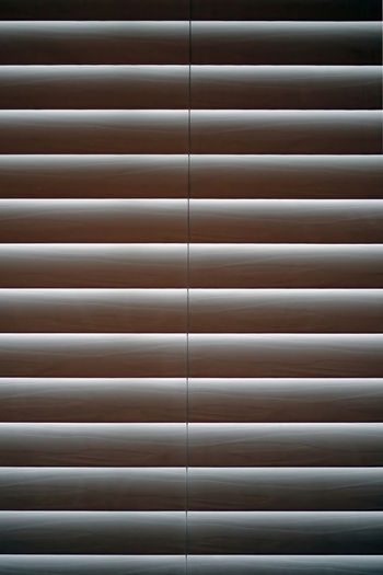 Full frame shot of window blinds