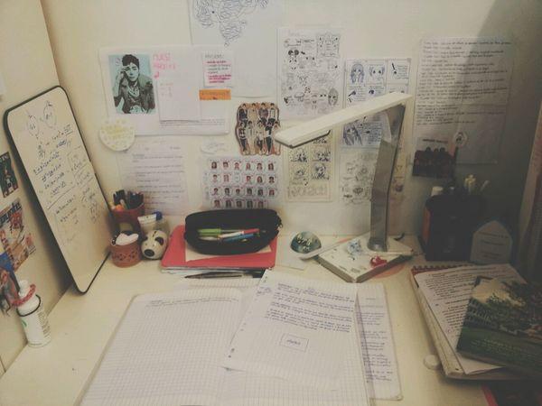 My Desk Bureau Desk Photography