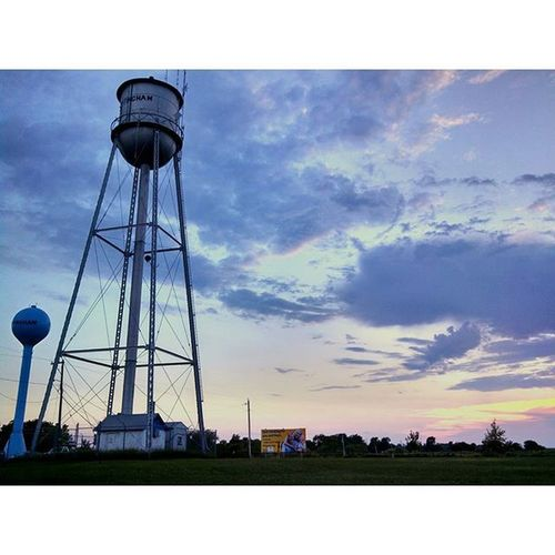 The towers in Effingham Kansas... (The Ham)... Ks_pride Summer Effinghamfair CountryLivinG TRB Trb_country