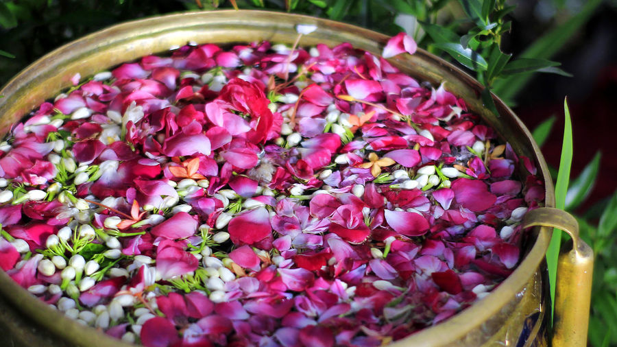 Rose water and