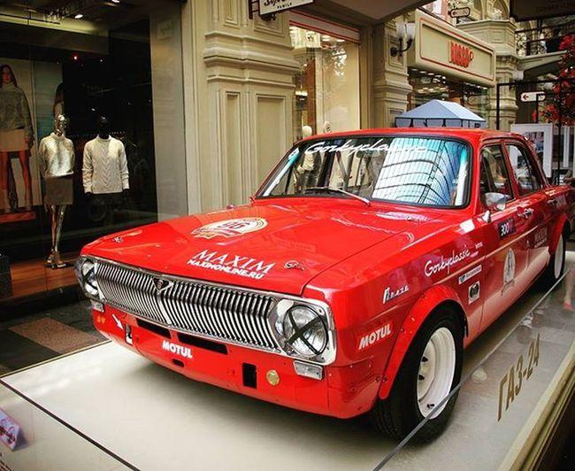 Moskova Moskow Gummarket Car Redcar Racecar Oldcar Russiancar