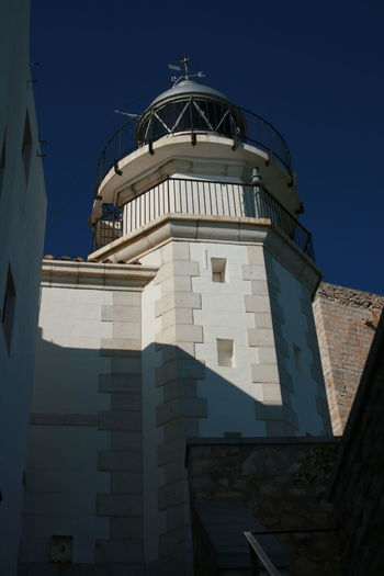 This sea side town is MUST SEE in Spain - Peñiscola. Architecture Blue Sky Light House Light House And Blue Sky Old Town Peñíscola Sky Steps Travel