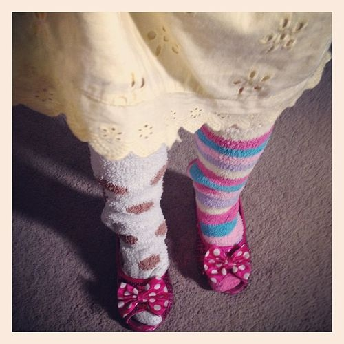 @dj_kyushu: I don't think Dorothy in Wizardofoz wore socks like these with the RubySlippers - This child is nuts Aysha Socks minniemouse shoes pink ruby heels yellow instafashion instanow instakids instatoday instacaption instacapture instapicture picoftheday