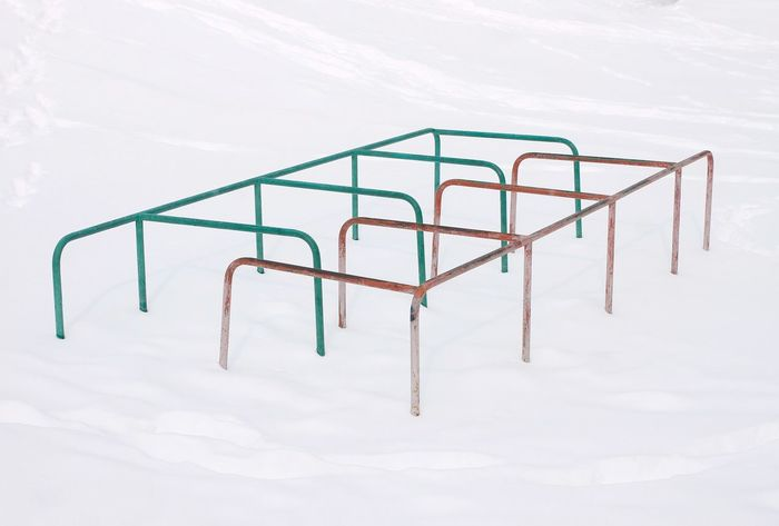 Snow Snowwhite Whitebackground Minimalism Construction EyeEm Selects Pink Color