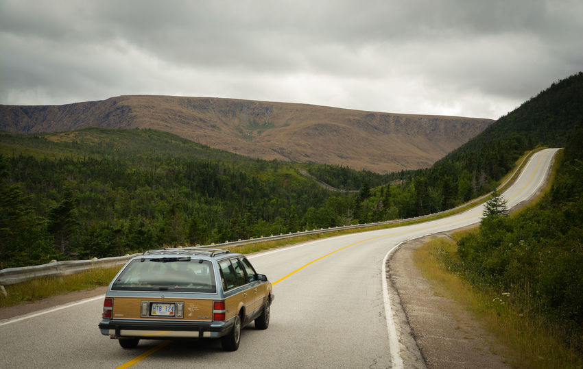 American Dream Canada Finding New Frontiers Gros Morne National Park Highway Journey Landscape Landschaft Mountain Mountain Road Newfoundland Road Road Trip Stationwagon Transportation Travel Photography Traveling Traveling Home For The Holidays Winding Road Miles Away The Great Outdoors - 2017 EyeEm Awards Let's Go. Together. Lost In The Landscape Go Higher Summer Road Tripping