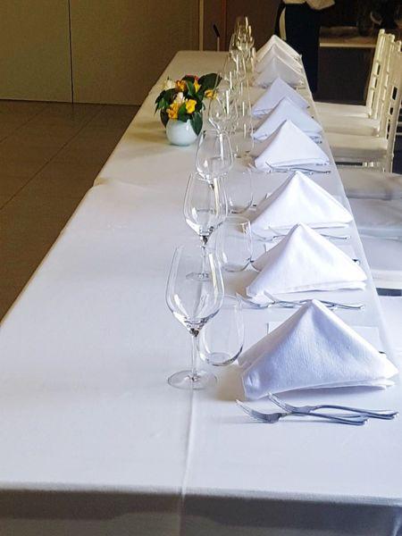 Banchetto Table High Angle View Day Domestic Life Indoors  Party Home Interior Tavolo Matrimonio Ceremony Invitation