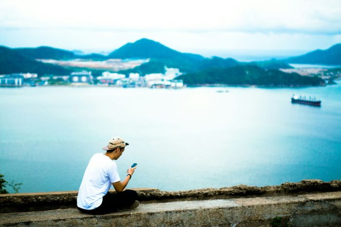 Explore HK: The sea among us Portrait Of A Friend EEA3 EEA3 - HongKong Sigma35mm Sigma 35mm Art Sea Enjoying The View EyeEm Best Shots The Great Outdoors - 2015 EyeEm Awards Aerial Shot