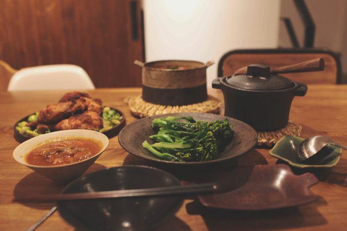 晚餐 Taiwan Kitchen Life Kitchen Food EyeEm Selects City Quality Plate Bowl Food And Drink