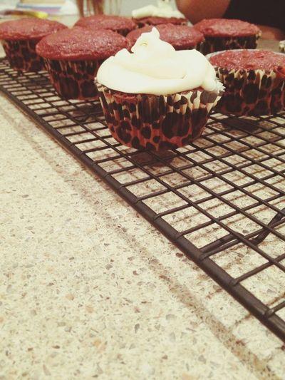 Red velvet cupcakes ❤️ Red Velvet Cupcakes! First Eyeem Photo