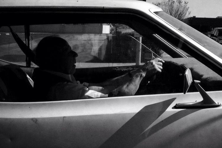 """And just drive,"" she said ""Just drive,"" she said, ""Just drive,"" she said. Stan Ridgeway"