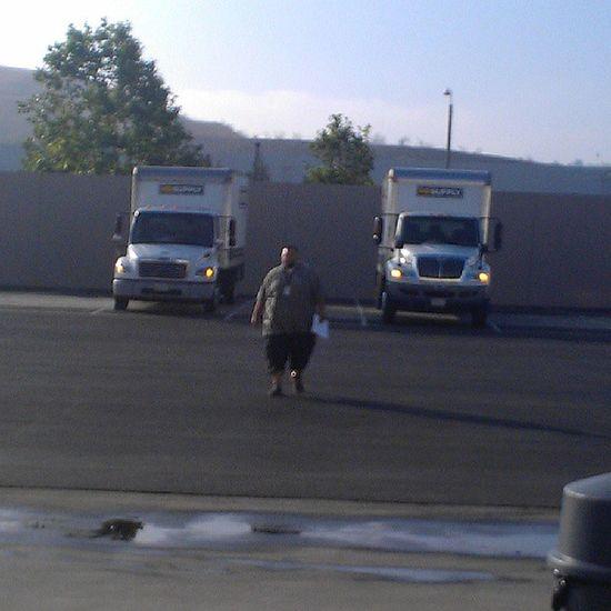 3 diesel trucks at the yard Bestia Chikibombo @perrote78
