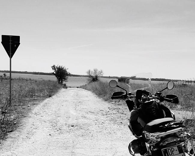 Passion Hillonsea Terrain Blackandwhite Mylife Motorbike Motorrad
