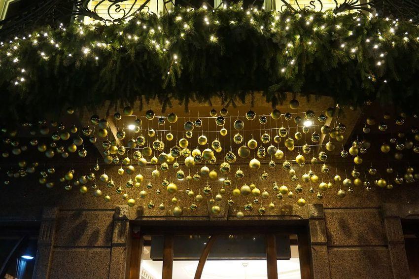 festive Uzhhorod#13 Christmas Decoration City Escape Detail Illuminated Indoors  Night No People Tree