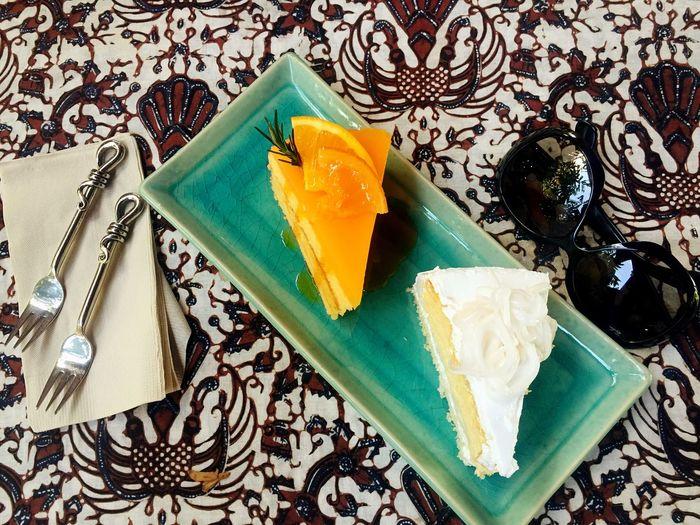 cake Orange Cake Relax Afternoon Cake  First Eyeem Photo